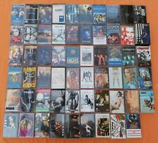 Vintage Mc Musicassette POP ROCK GLAM HEAVY METAL 80s 90s Tapes Music 1TAPE=5E.!