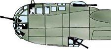 Dornier Do 217K Vacuform Canopy, Glazing for Italeri (1/72 Squadron 9171)