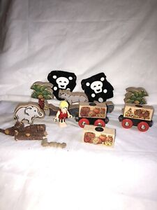 Vintage Brio Track And Pirate Accesories