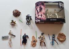 Star Wars episodio 1 2 3 Figuras Sueltas Maul Yoda Clone Troopers Hasbro Lote De Trabajo