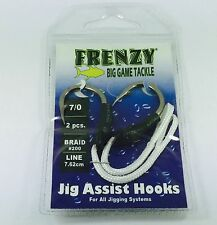 FRENZY TACKLE JIG ASSIST HOOKS 7/0