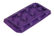 Ice cube Tray Grape Fruit  18x10cm 100%silicone  Guaranteed quality hf5412