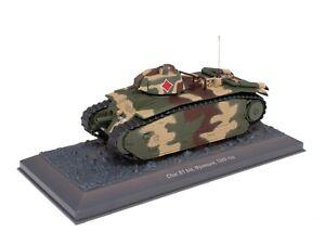 Tank Char B1 bis (1940) WW2 France - 1/43 IXO Deagostini Char Militaire TA15