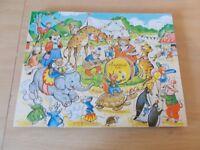 Vintage jigsaw puzzle.vintage animal jigsaw puzzles.vintage wooden jigsaw puzzle