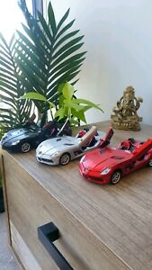 Mercedes Benz SLR Coupe Set of 3 Die-Cast Car Toy with Light and Sound