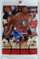 Rare: 1998 98 Upper Deck MJX Michael Jordan MJ Timepieces #6 #'d of 2300 Bulls