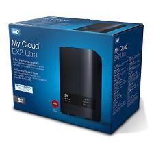 Western Digital My Cloud™ EX2 Ultra 8TB (2x4TB) WDBVBZ0080JCH-EESN NEU OVP