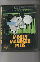 MONEY MANAGER PLUS Programme On 5.25 Inch Disc For The Amstrad PC1512 & IBM PC