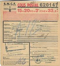 5 bulletins d'expédition de Colis postaux  - ( L5 ) -  25-03-20