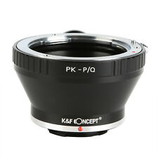 Pentax K PK Lens To Pentax Q PQ P/Q Mount Adapter with Tripod Q-S1 Q10 Q7 Camera