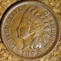 1895 Indian Head Cent - EXTREMELY FINE (K740)