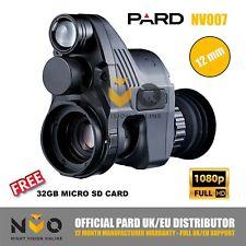 PARD NV007 12mm Night Vision Rifle Scope AddOn 1080p HD Recording 850nm IR Torch