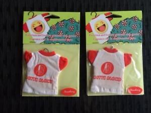 Novelty 2 Strawberry Air Freshner T Shirts