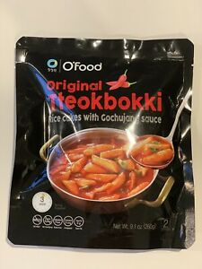 Korean TTeokbokki Series Delicious Sweet Spicy Topokki Rice Cake Pre Made 3packs