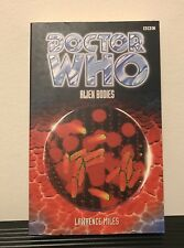 Doctor Who Book - Alien Bodies - Factory Error - Rare