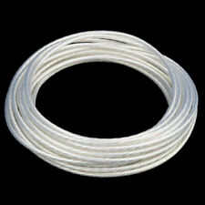 4.0mm2 High Purity Silver Plated OCC PTFE Wire Cable For HIFI Audio DIY *5m