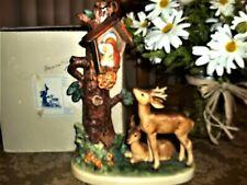 New ListingHummel Large~Forest Shrine~Hum #183~Tmk 6~ 9� Tall~Deer By Shrine in Woods w/Box