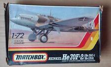 HEINKEL HE  70 F2  1/72  MATCHBOX CALCAS GUERRA CIVIL ESPAÑOLA