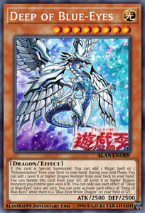 Blue-Eyes Abyss Dragon - LDS2-EN015 - Secret Rare PreOrder 01/22