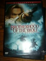 BROTHERHOOD OF THE WOLF( LE PACTE DES LOUPS) - WIDESCREEN DVD - WATCHED ONCE!!