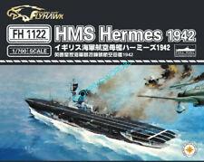Flyhawk 1/700 1122 HMS Aircraft carrier Hermes 1942 top quality