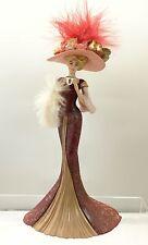 A Delightful Encounter Lady Figurine Thomas Kinkade Whispers Victorian Elegance