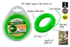 12M Garden Trimmer Line -2mm Gardeners Ultra Grade WHIPPER SNIPPER CORD Sydney