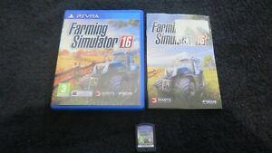 PSVita : FARMING SIMULATOR 16 - Completo, ITA ! PS VITA ! CONSEGNA IN 24/48H