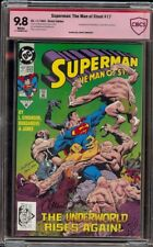 Superman Man of Steel  17 CBCS 9.8 (DC 1992) 1st appearance Doomsday Simpson sig