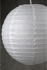 Large Round White Paper Lantern 12� Diameter Outdoor Wedding Décor Patio