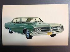 1968 Buick Le Sabre 4-Door Sedan Postcard Post Card RARE!! Awesome L@@K