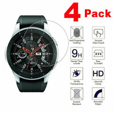 4-PACK Tempered Glass Screen Protector For Samsung Galaxy Watch 46mm SM-R800