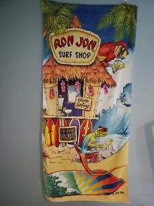 Vintage 1990s Ron Jon Surf Shop Beach Towel