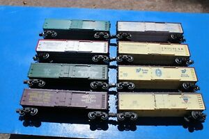 Lionel 5700-5707 Series Wood-Sided Reefers- All 8; Factory Weathered