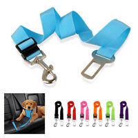 Adjustable Dog Car Seat Belt Harness Restraint Safety Nylon Travel Clip Strap