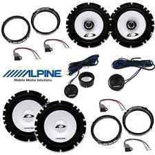 Kit 6 casse per SEAT IBIZA Alpine con adattatori e supporti