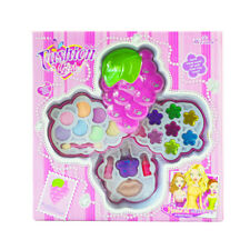 Girls grapes Makeup Set For Kids Cosmetic Kit Eye shadow Lip Gloss Blushes