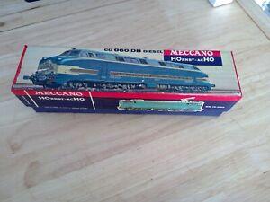Loco CC 060 Diesel - 6340 - HOrnby Meccano - avec bogie gris