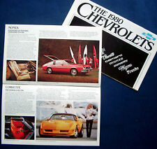 Prospekt brochure 1980 Chevrolet Chevy Monte Carlo * Camaro * Corvette (USA)