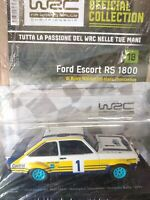 1:24 FORD ESCORT RS 1800 MKII  WALDEGARD-THORSZELIUS  ACROPOLIS RALLY 1979 MIB