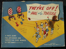 RARE Party Game 1953 They're Off The Hare & The Tortoise Victor Holden
