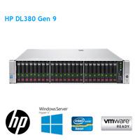 HP DL380 Gen9 2 x E5-2650 V3 128GB RAM P440AR 2GB Raid SAS Expander