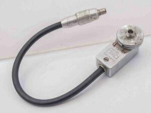 Zeiss Ikon Contax IIa IIIa RF Camera Flash Adapter Cord Cable PC Sync 1361
