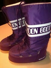 Tecnica Moon Boots 42-44 Purple 10 11 12 Winter Snow Warm