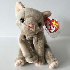 Ty Beanie Baby Scat the Cat Retired Misspellings Errors Rare