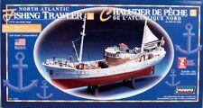 "Lindberg 1/90 scale North Atlantic Fishing Trawler BoatPlastic NEW Length 171/2"""