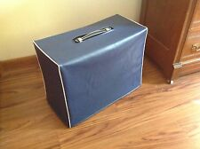 ROLAND JC-120 2x12 COMBO AMP VINYL COVER Navy Blue with WHITE PIPING (rola003)