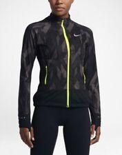 Nike Flex Mujer Atletismo Senderismo Chaqueta Plegable 836241-010 Negro/Gris /