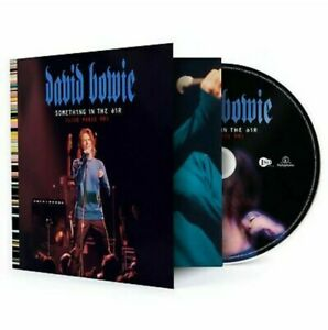 DAVID BOWIE - SOMETHING IN THE AIR - EXCLUSIVE CD - LIVE PARIS 99. sold out NEW