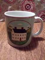 Warren Kimble Brandon House Sakura Country Life Single Coffee Mug Cup Farm House
